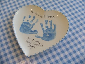 Capture your little ones hand or foot prints - memories last forever