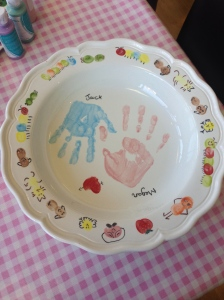 Hand Prints and Finger Print Painting - Unique to You!