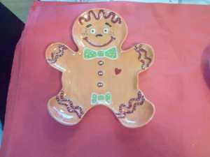Love this Gingerbread plate